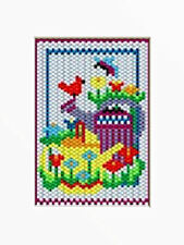 Watering Cans Beaded Banner Pattern