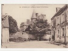 Oysonville Maison Vassort & Chateau France Vintage Postcard 273a