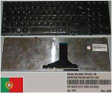 Clavier Qwerty PO Portugais TOSHIBA Satellite A660 NSK-TQ1GC 9Z.N4YGC.106 Glossy