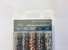 H & N PELLETS SAMPLE PACK .22 Tubes Of 5 Types Barracuda Silver Point Magnum Etc