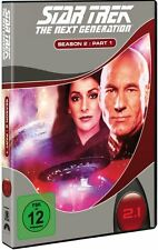 STAR TREK: THE NEXT GENERATION, Season 2.1 (3 DVDs) NEU+OVP