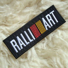 1PC. MITSUBISHI RALL ART RACING EMBROIDERED IRON ON ARM CHEST PATCH BADGE SHIRT