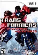 TRANSFORMERS CYBERTRON ADVENTURES.ORIGINAL Wii GAME.W/MANUAL.EXCELLENT