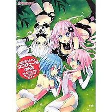 Hyperdimension Neptunia Art Book Neptune Anime Japanese mk2 1