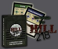 The Battle For Hill 218: A Strategy Game For Two Players YMG022