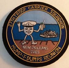 USAAF~WWll~ 27th TROOP CARRIER SQUADRON~HUMP-T-DUMPS REUNION~2005 New Orleans La