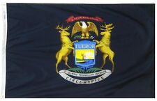 3x5 State of Michigan Super Poly Flag 3'x5' House Banner