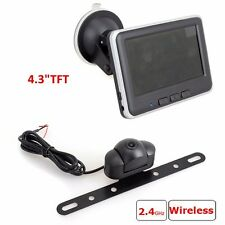 """Wireless Car Rear View PARKING System Backup Reverse Camera+4.3""""Inch LCD Monitor"""