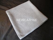 "Large Gray 25""x36"" Waffle Weave Thirsty Microfiber Deluxe Drying Towel Auto Home"