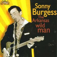 SONNY BURGESS Arkansas Wild Man CD rockabilly 1950s Sun Records Rock 'n' Roll