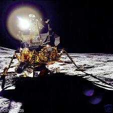 Photo Nasa - Apollo 14 - Module Lunaire Antares dans le cratère Fra Mauro