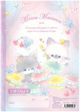 Q-Lia Minou Macaron Kitties Kawaii Sketch Notebook