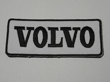 MOTORSPORTS MOTOR RACING CAR SEW / IRON ON PATCH:- VOLVO (d) SWEDEN TRUCKS BUSES