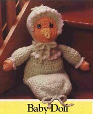 Crochet Pattern Baby Doll Soft Toy Doll