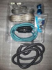 CONNECTION by HERTZ BSK400.1 400W 8 GAUGE AMP INSTALLATION KIT RCA SPEAKER WIRE