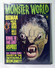 MONSTER WORLD #10 - (Famous Monsters of Filmland) -  VG+