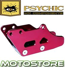 PSYCHIC RED ALUMINIUM REAR CHAIN GUIDE BLOCK CAGE GUARD HONDA CRF250R 2005-2011