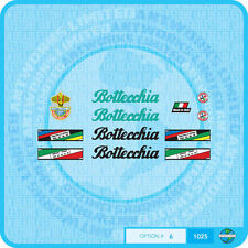 Bottecchia Bicycle Decals Transfers - Stickers - Set 6