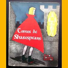 CONTES DE SHAKESPEARE Illustrations de Chica Henri Laurens Editeur 1957
