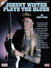 Johnny Winter Plays The Blues (Book/Cd), Toby Wine, Johnny Winter, Good Book