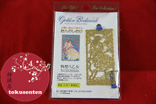 MARQUE PAGES PLAQUE OR BOOKMARK GOLDEN MADE IN JAPAN NEUF NEW