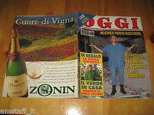 OGGI 1994/5=HEATHER PARISI=THE BEATLES=CLAUDIA SCHIFFER=ALESSANDRA FERRI=