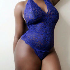 Sexy Lingerie Lace Dress Babydoll Womens Underwear Nightwear Sleepwear Plus size