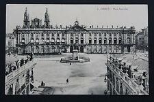 Carte postale ancienne CPA NANCY - Place Stanislas