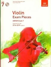 Grade 7 VIOLIN EXAM PIECES 2016-19 ABRSM Music Book violin part, piano score, CD