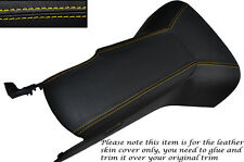 YELLOW STITCH CENTRE CONSOLE COVER & ARMREST COVER FITS CORVETTE C6 2005-2013