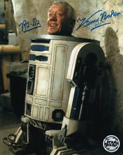 STAR WARS R2-D2 KENNY BAKER SIGNED 10x8 INCH LAB PRINTED PHOTO