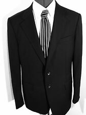 Designer JOHN RICHMOND Men's Blazer Jacket Black Wool Size: 50""