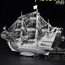 Piececool Metal Puzzles The Queen Anne's Revenge Model DIY 3D Laser Cut Toy