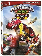 Power Rangers Dino Super Charge: Roar (2017, REGION 1 DVD New)