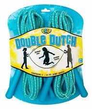 POOF Hot Ropes 2-Pack Double Dutch Jump Ropes For Kids Ages 6 Years And Up NEW