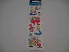 Scrapbooking Stickers Disney Alice in Wonderland Mad Hatter Tea Cups Cat More