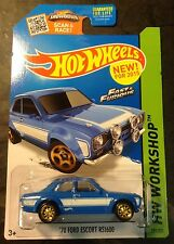 Hot Wheels CUSTOM Super Hunt 70 Ford Escort RS1600 Fast N Furious Real Riders