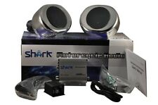 shark SHKMSC22050 motorcycle yacht snowmobile marine audio w/ knob remote+ clmps