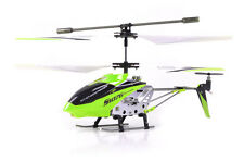 Syma S107G 3 Channel RC Radio Remote Control Helicopter with Gyro - GREEN