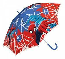 Marvel Ultimate Spiderman School Rain Brolly Umbrella Brand New Gift