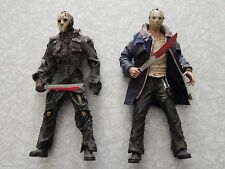 Mezco Cinema of Fear 1:6 scale Jason Voorhees Friday the 13th figure lot 12 inch