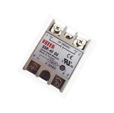 NEW Solid State Relay DC-AC SSR-40DA 40A Input 3-32V DC  Output 24-380V AC