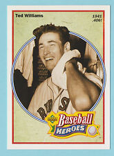 1991 Upper Deck Baseball Heroes Ted Williams Boston Red Sox #29