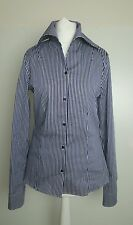 Bnwot Jil Sander women's  striped fitted shirt.blouse.sz 36 (uk 8-10). £285
