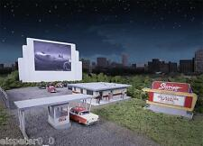 Walthers 533478 Escala H0, Drive-in theater Skyview, EE.UU. Tren Modelo Kit 1:87