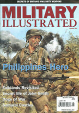 MILITARY ILLUSTRATED 180 PHILIPPINES LIBERATION / DOGS OF WAR / SOE DIRTY WEAPON