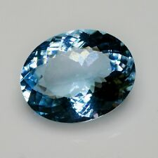 7,67 carats, AIGUE MARINE NATURELLE  TOP COLOR !!  (pierres précieuses/ fines)