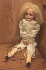 OOAK ASYLUM Antique Repurposed Art Doll - Mitre Street Mary - Gothic Art