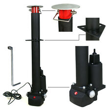 3500 lbs Electric Power Tongue Jack RV Boat Jet Ski A-Frame Trailer Camper 12V