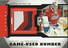2012-13 ITG Heroes and Prospects Jersey Number Gold #M01 Daniel Altshuller 1/1